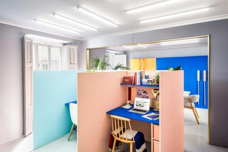 Masquespacio interior-design studio renovation in Valencia Spain