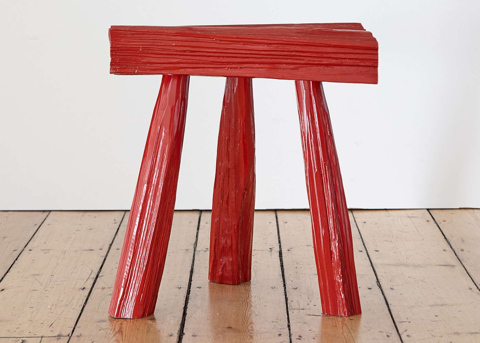 Urushi Stool by Max Lamb