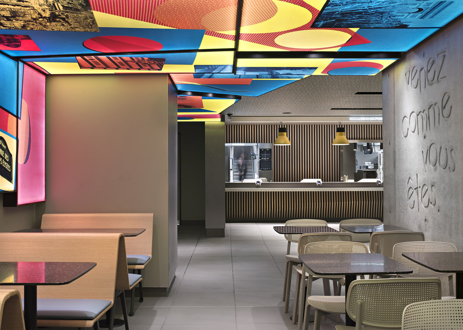 Image result for mcdonald's restaurant, paris