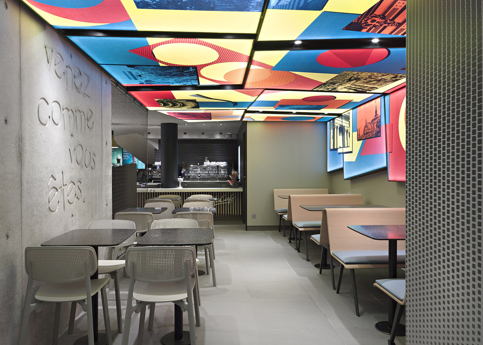 "Mcdonalds Interior Design patrick norguet designs ""truly novel"" interior for mcdonald's"