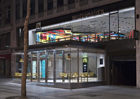McDonalds Champs-Elysees