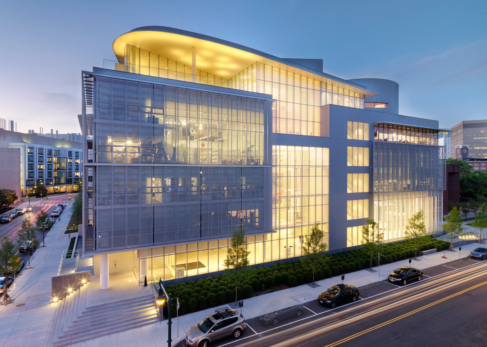MIT's Media Lab building designed by architect Fumihiko Maki is used by the institute's architecture school, which beat 1,668 institutions to be named the world's best