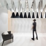 "Massive Order adds monochrome ""stalactites"" to Kuwait boutique interior"