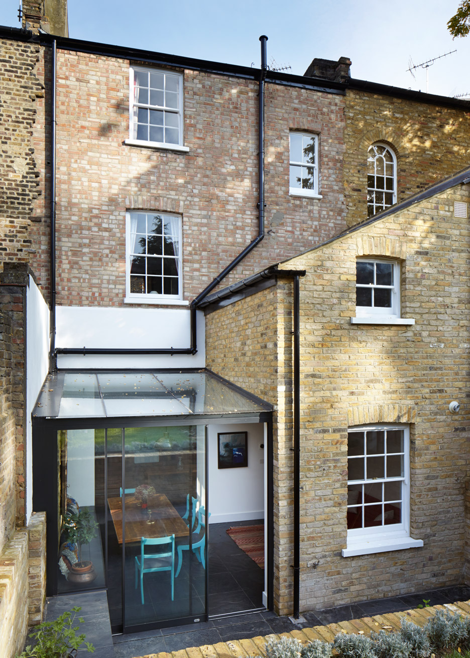 Mile End house extension by HÛT