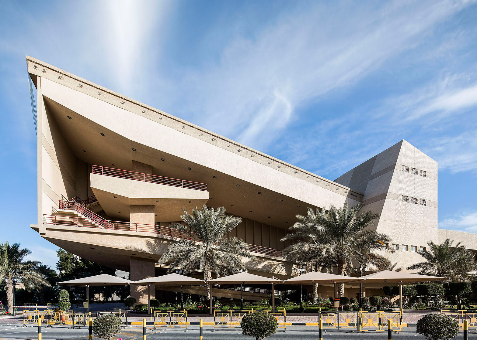 Modern Architecture nelson garrido captures architecture of kuwait's golden era