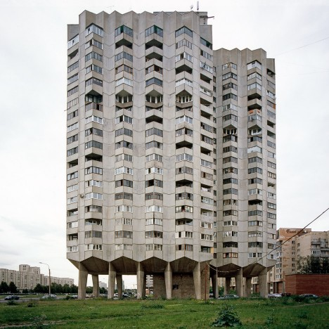"Nicolas Grospierre's Modern Forms series is an ""atlas"" of decaying Modernism"