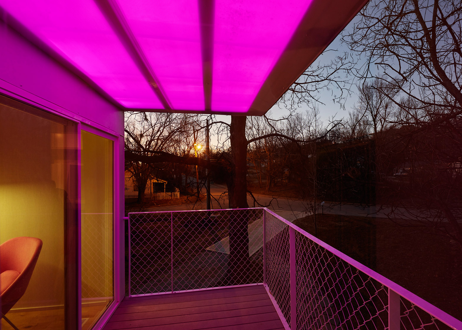 Mood ring house by Silo AR+D in Fayetteville, Arkansas