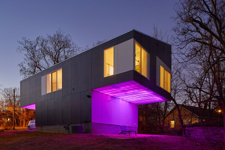 Attractive Mood Ring House By Silo AR+D In Fayetteville, Arkansas