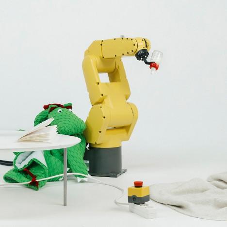 German students design accessories to help children relate to robots