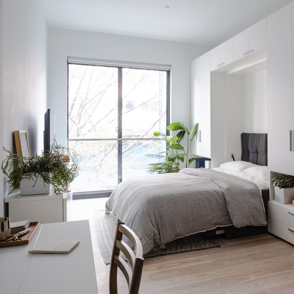 Charming My Micro NY Apartment Interior By NArchitects