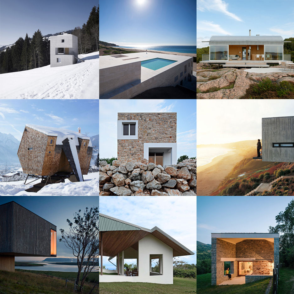 New Dezeen Pinterest board – holiday homes