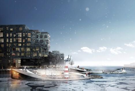 Nordhavn Islands Copenhagen by CF Møller