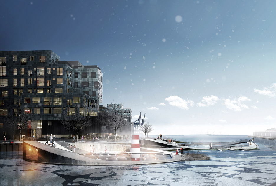 Nordhavn Islands Copenhagen by CF Møller