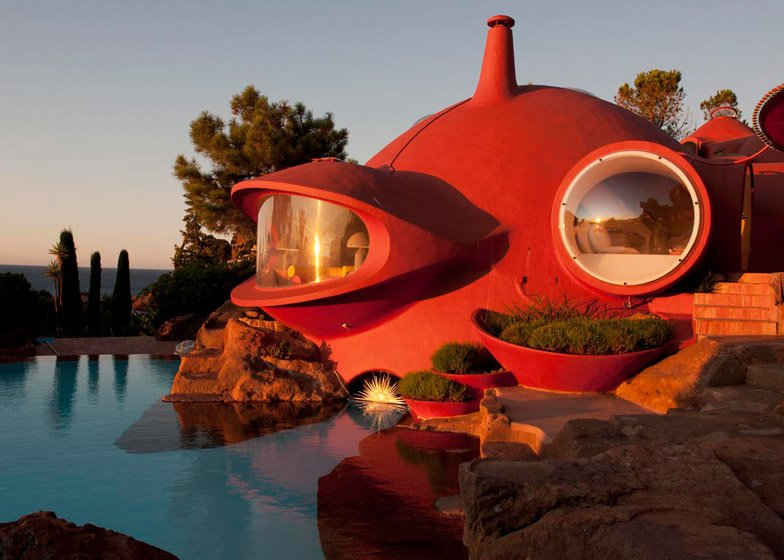 Bubble House Maison Bernard renovation by Odile Decq
