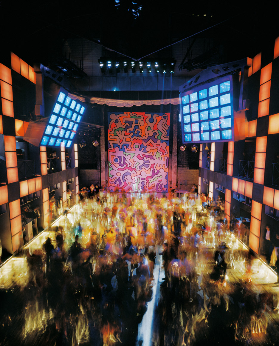 The Palladium nightclub in New York City by Arata Isozaki
