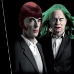 Architects made up as drag queens to promote Parity Talks series