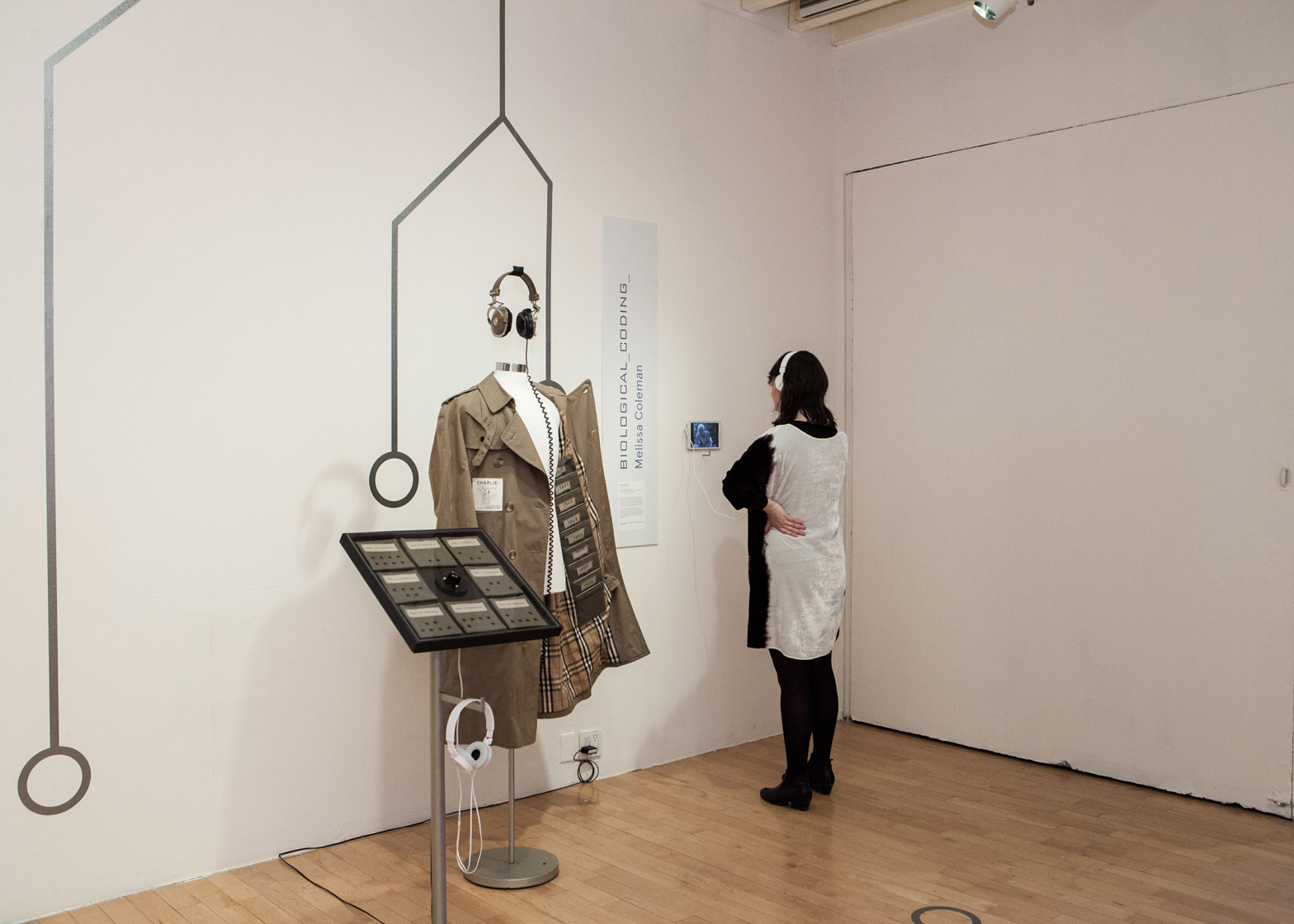 Coded Couture fashion exhibition at Pratt Institute in New York, USA
