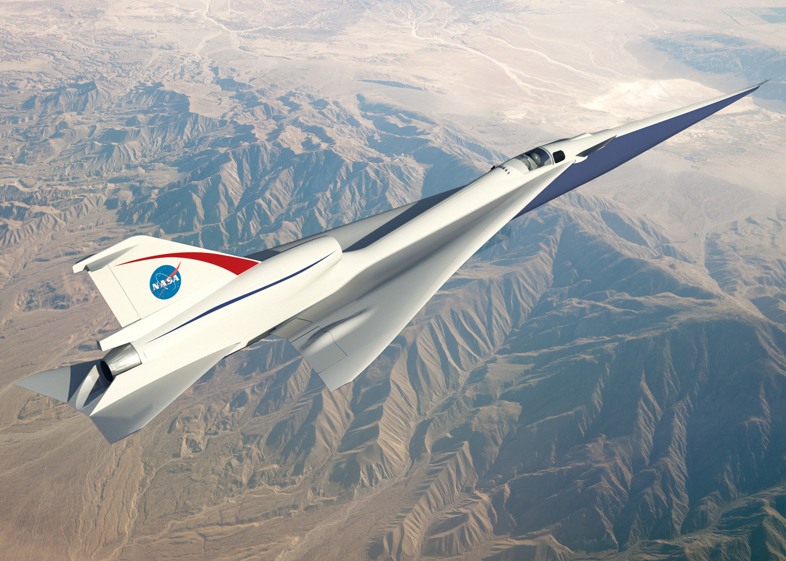 NASA supersonic plane