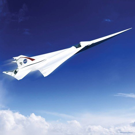 NASA is developing a quiet supersonic passenger jet for overland flights