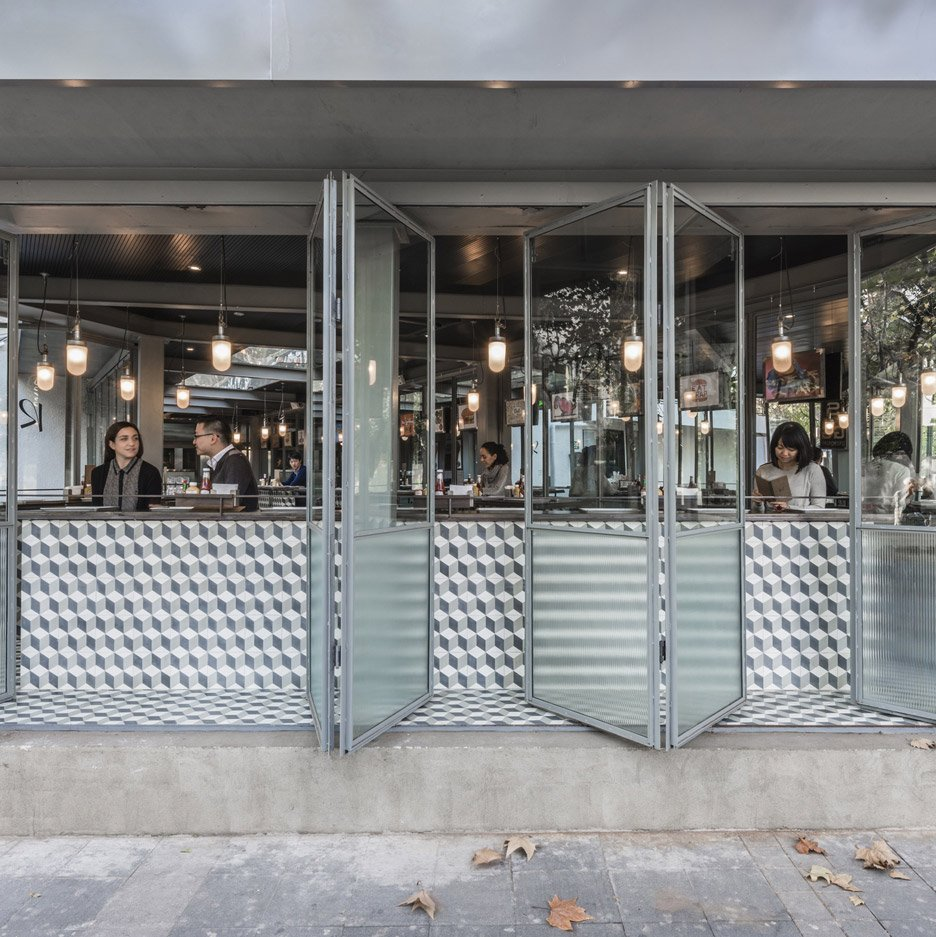 Rachel's Burger restaurant by Neri&Hu