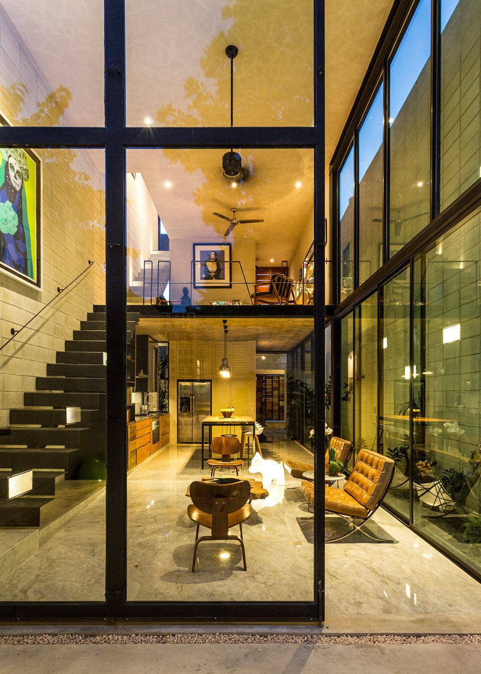 Raw Casa pelo Studio Estilo em Yucatán, México