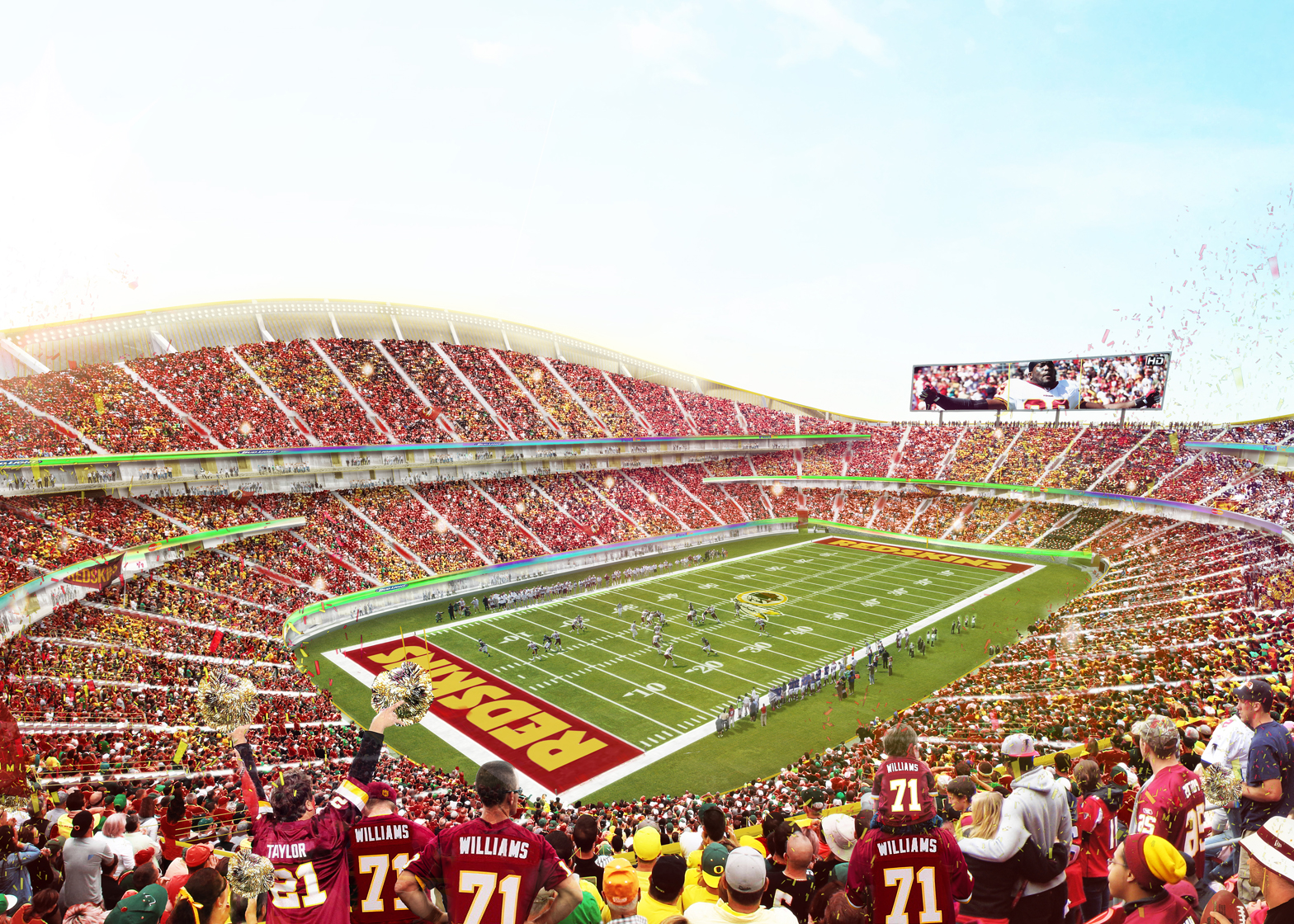 Redskins Stadium by BIG