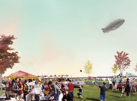 Redskins Stadium by BIG