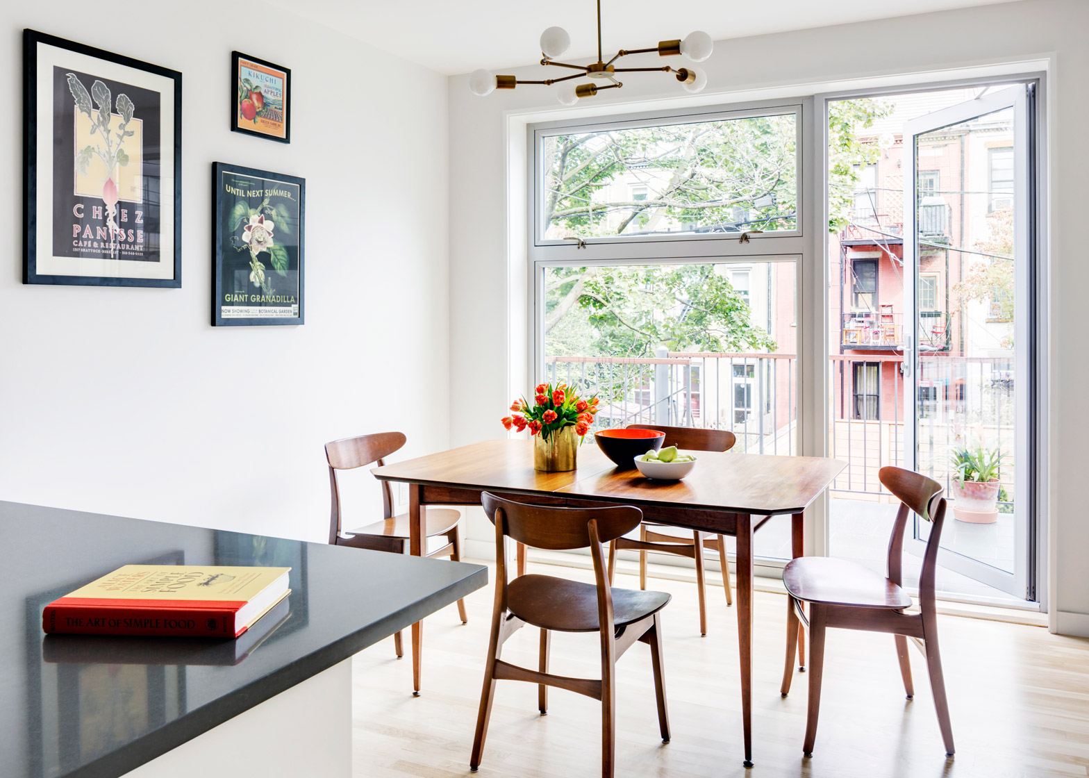 Barker Freeman overhuals narrow Brooklyn row house for a family of four
