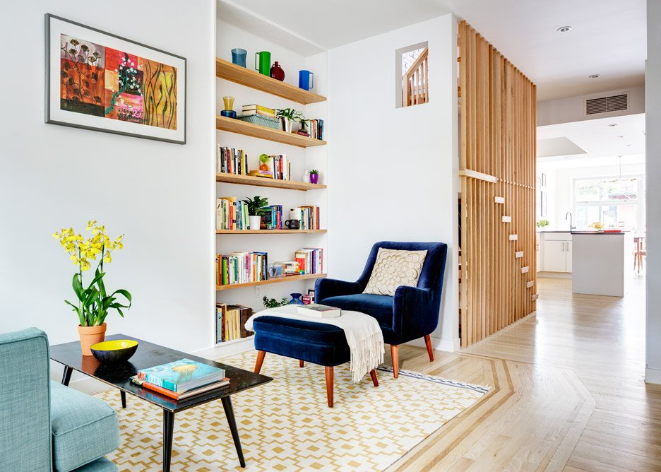 Brooklyn Rowhouse by Barker Freeman
