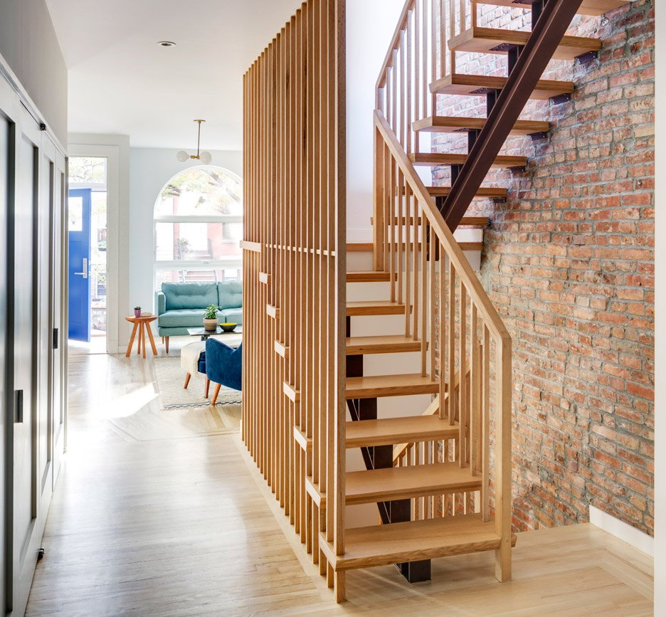 ^ Barker Freeman overhuals narrow Brooklyn row house for a family of ...