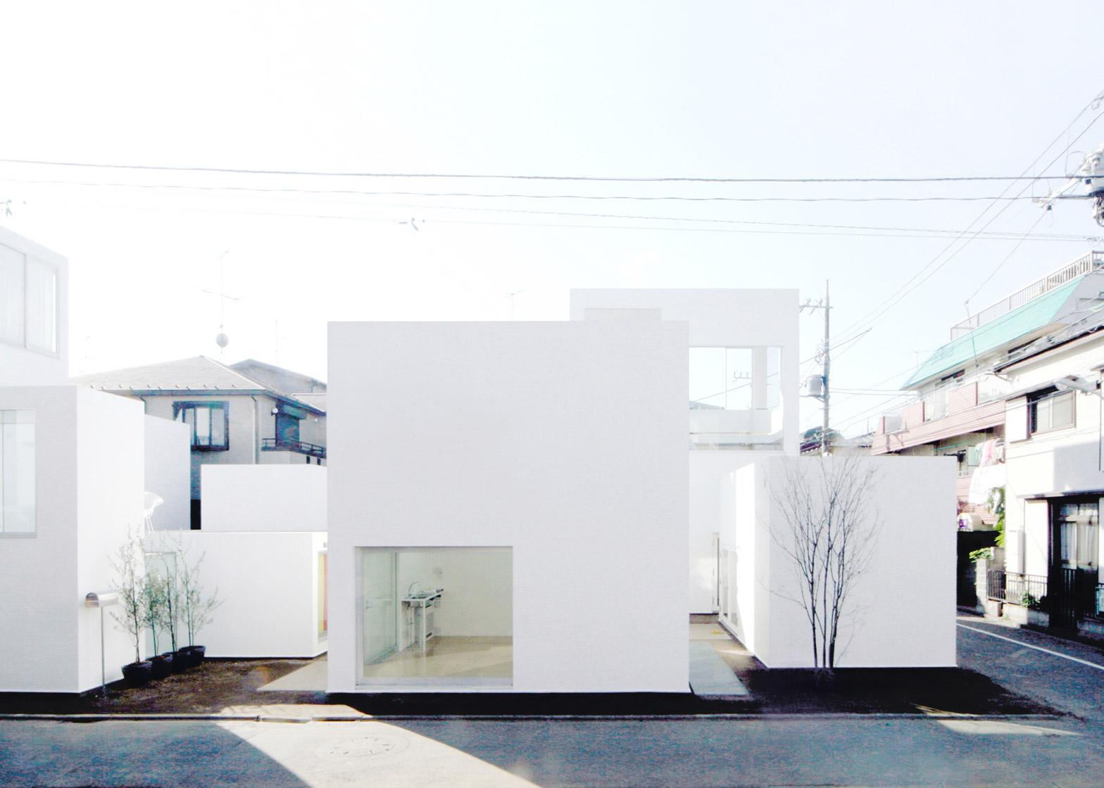 Moriyama House, Tokyo, Japan by Ryue Nishizawa, 2002-2005