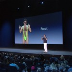 Sacha Baron Cohen spoofs Jonathan Ive's Apple design presentations
