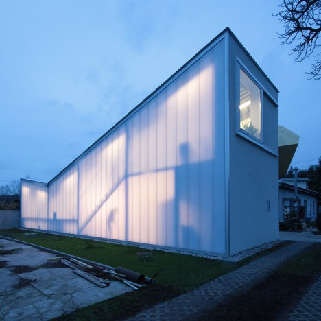 Sculptor's Studio for Pawel Althamer