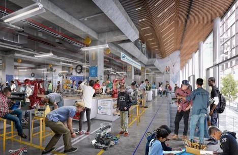 SHoP Architects Philadelphia masterplan