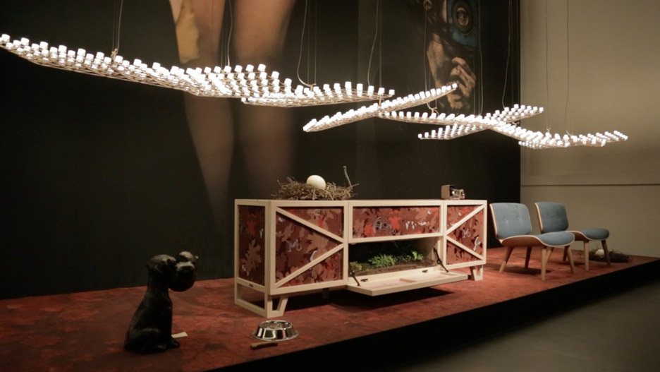 Space-Fame light designed by Marcel Wanders for Moooi