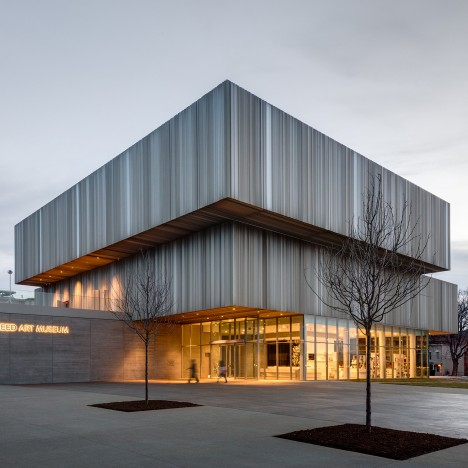 WHY expands Louisville's Speed Art Museum with a corrugated metal facade