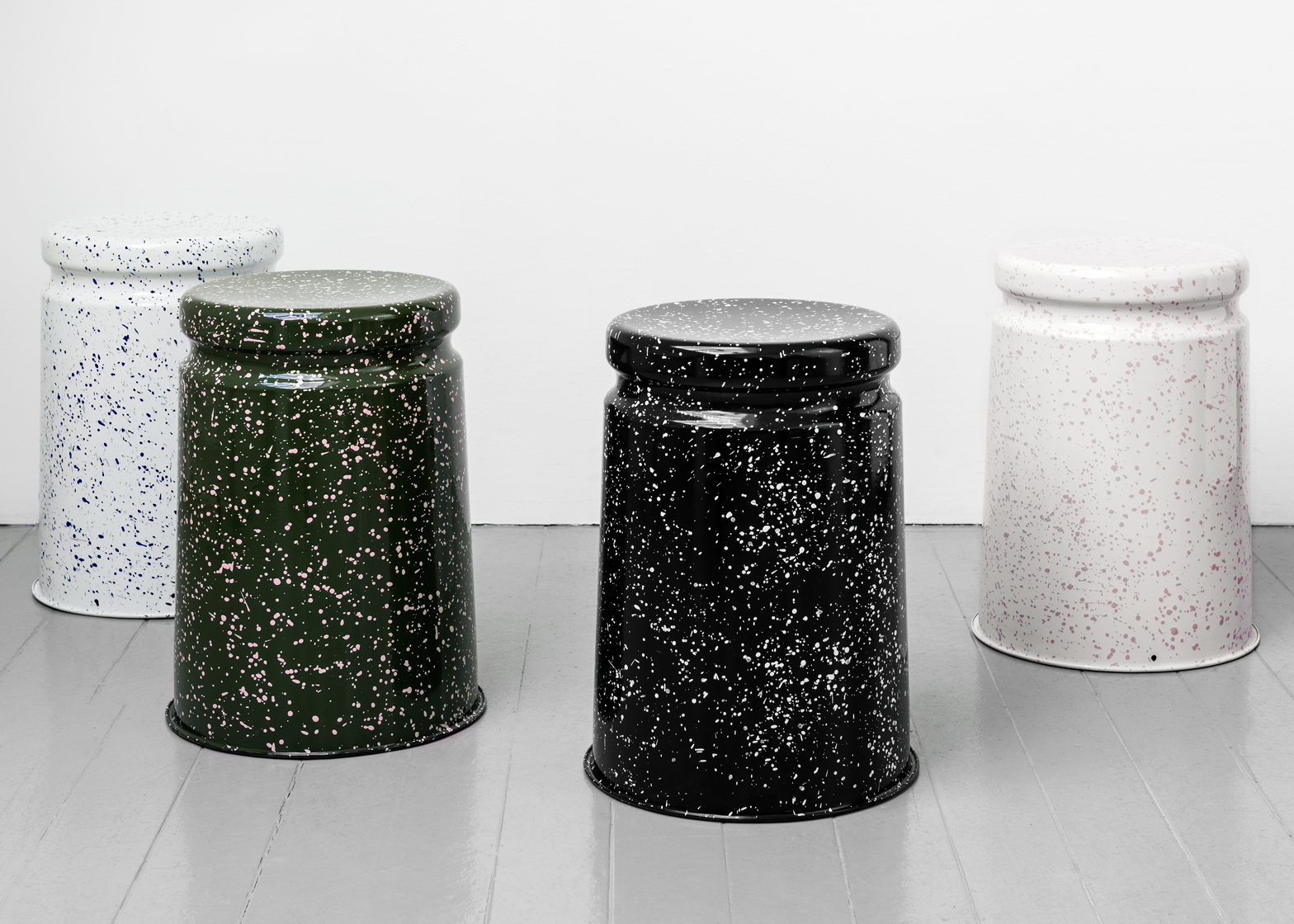 Splatter stool by Max Lamb for Hem