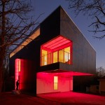 Mood Ring House by Silo AR+D glows with a rainbow of colours