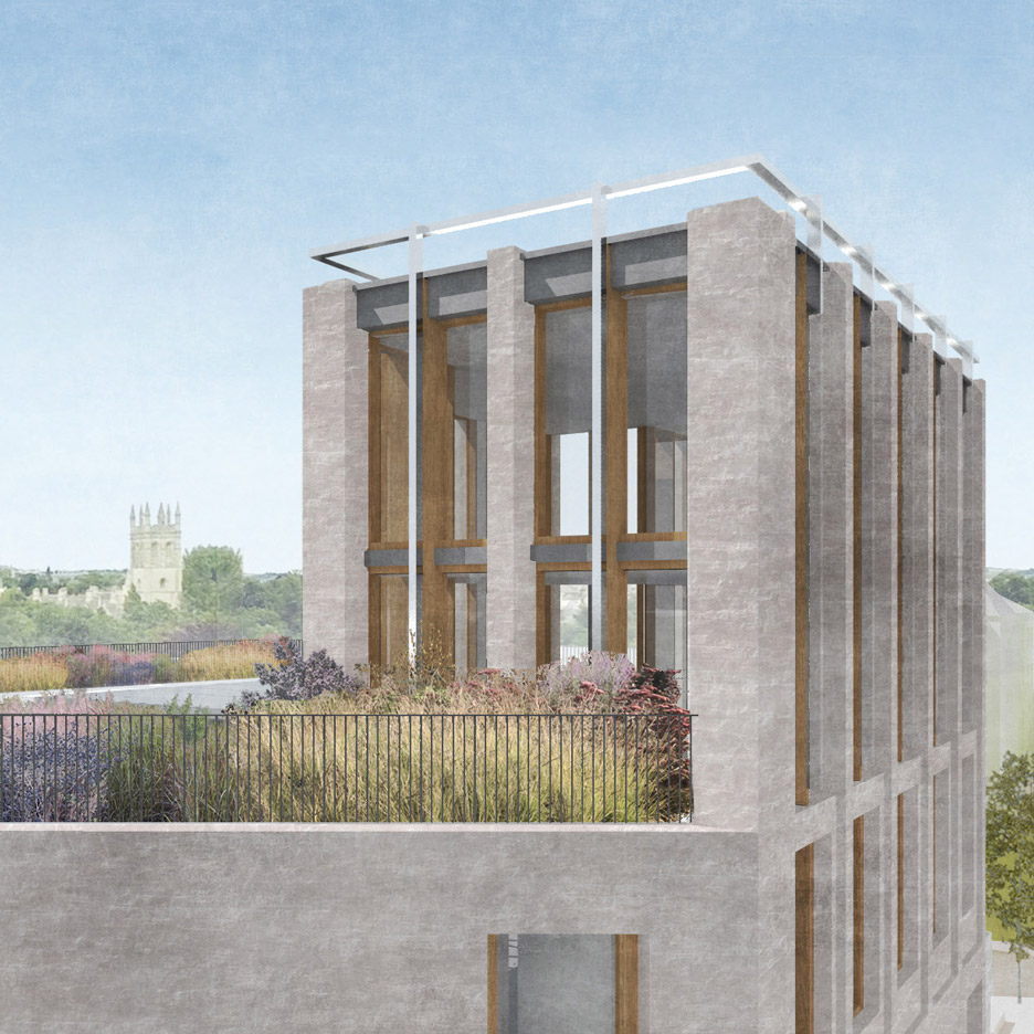Gort Scott Wins Contest For Oxford University College Extension