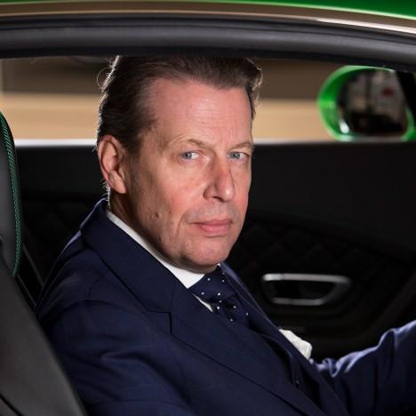 Bentley's head of design Stephan Sielaff
