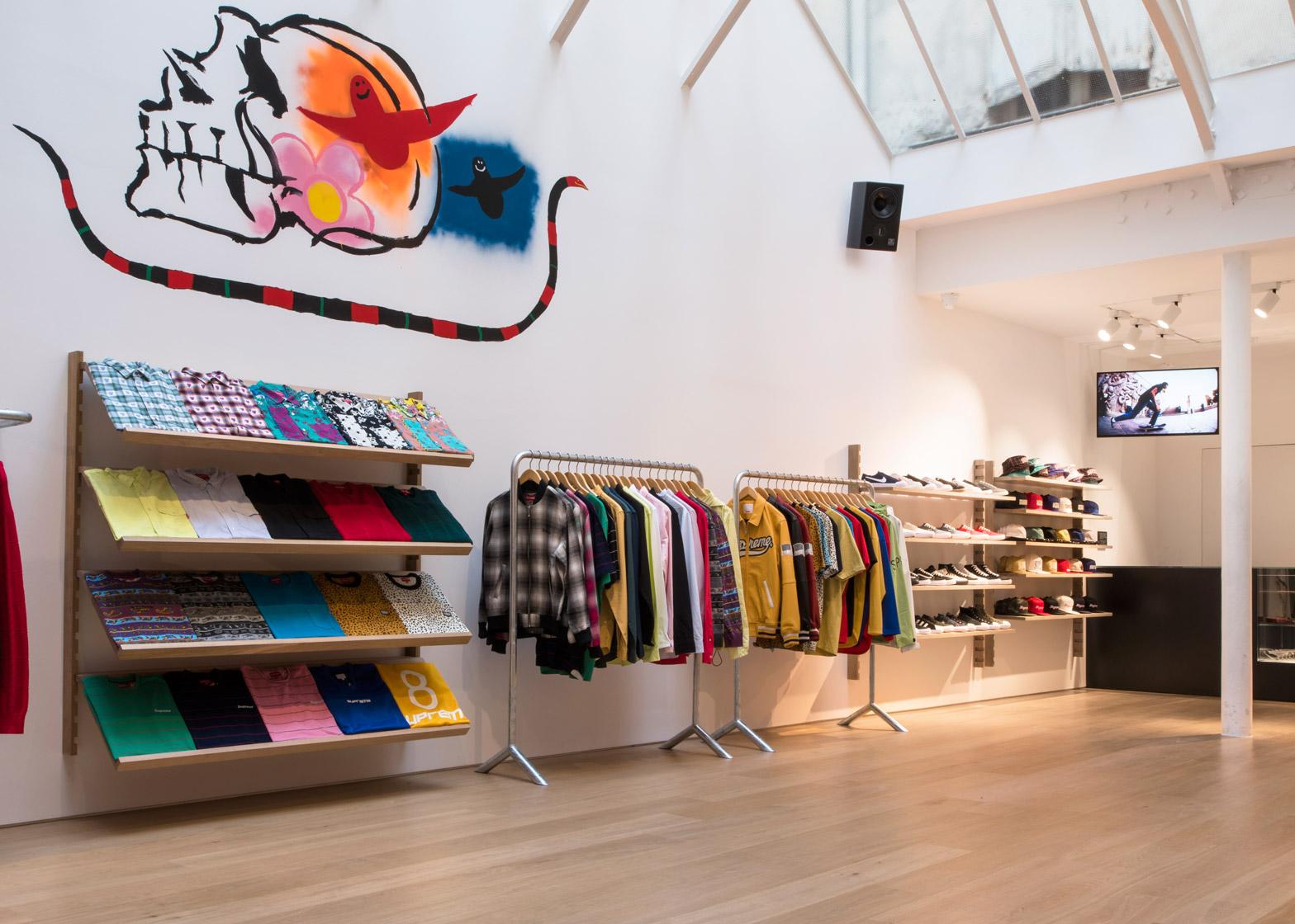 Brinkworth designs clean interior for Supreme Paris store 347984ac23