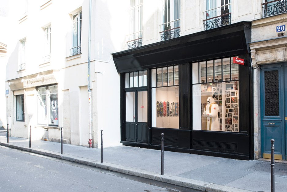 Supreme Paris store by Brinkworth