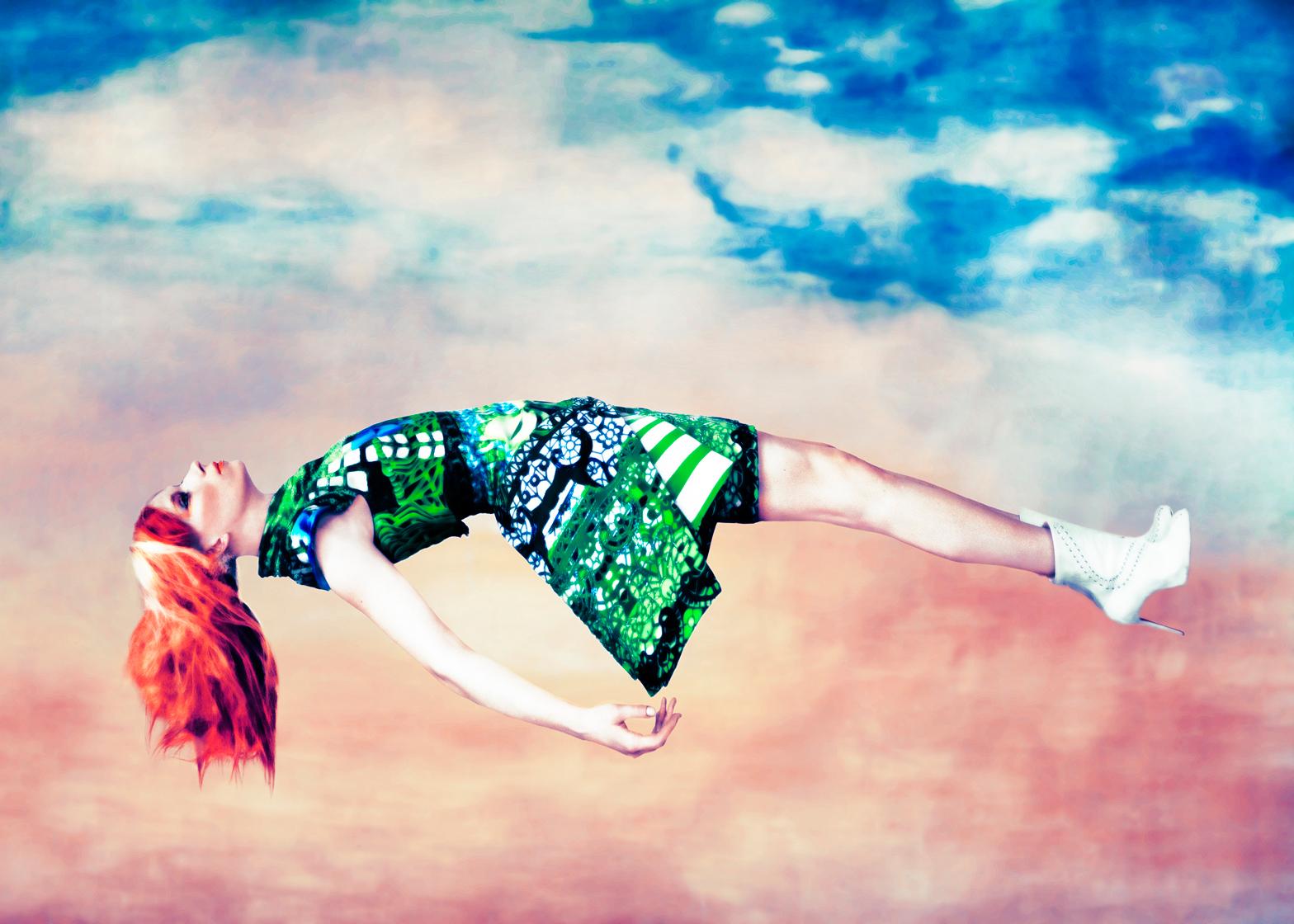 Mary Katrantzou's Expandit dress, 2012. Photograph by Erik Madigan Heck