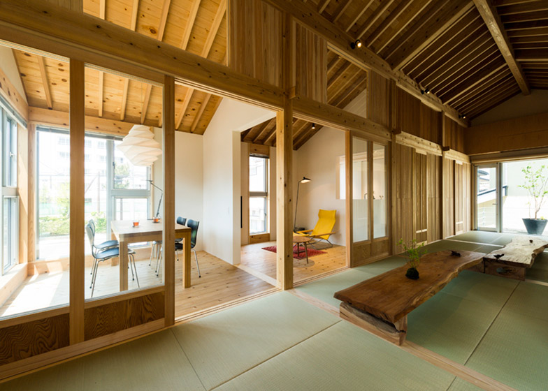 Inari House by Tokmoto Architectures Room in Niigata City, Japan