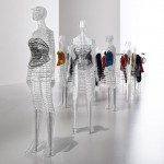 Tokujin Yoshioka creates transparent mannequins for Issey Miyake exhibition