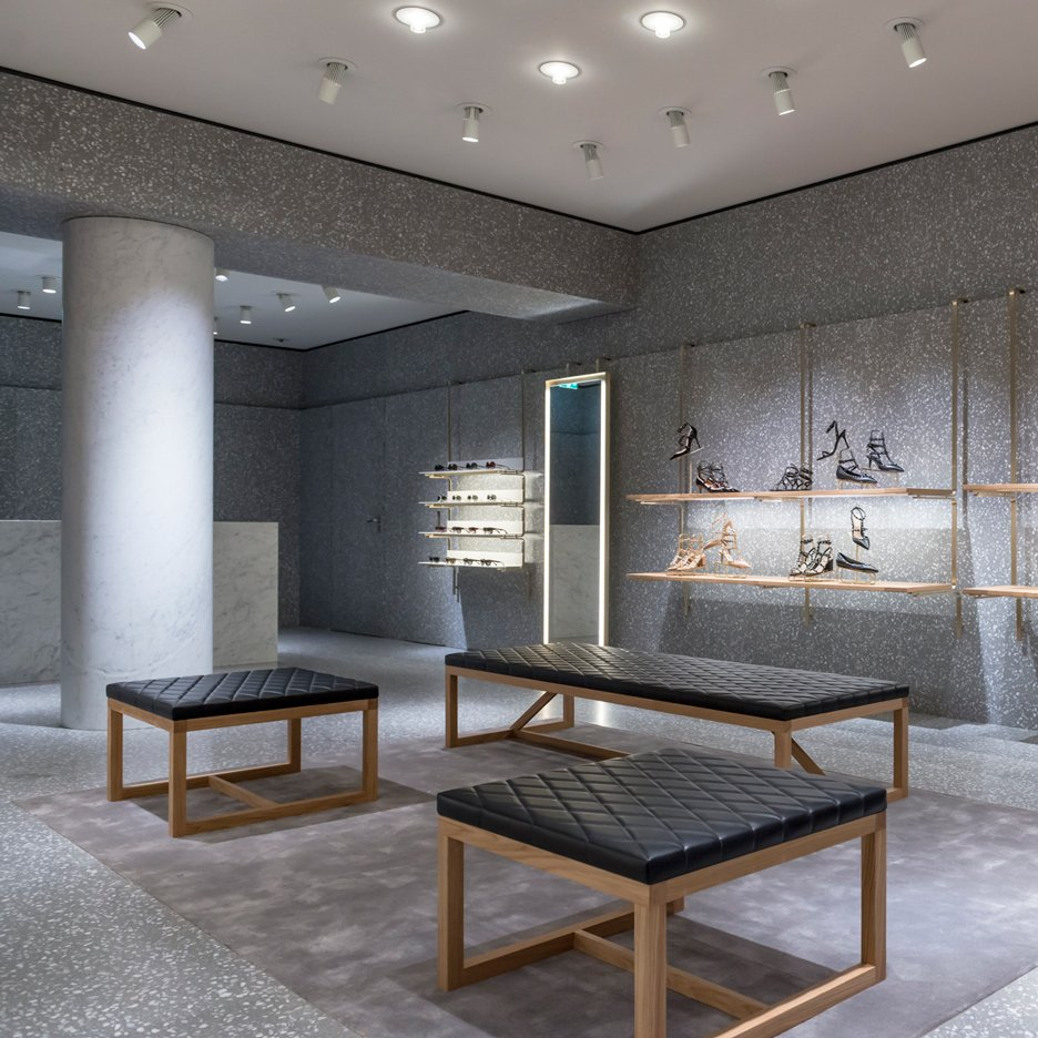 "David Chipperfield creates ""palazzo atmosphere"" for Valentino store in London"