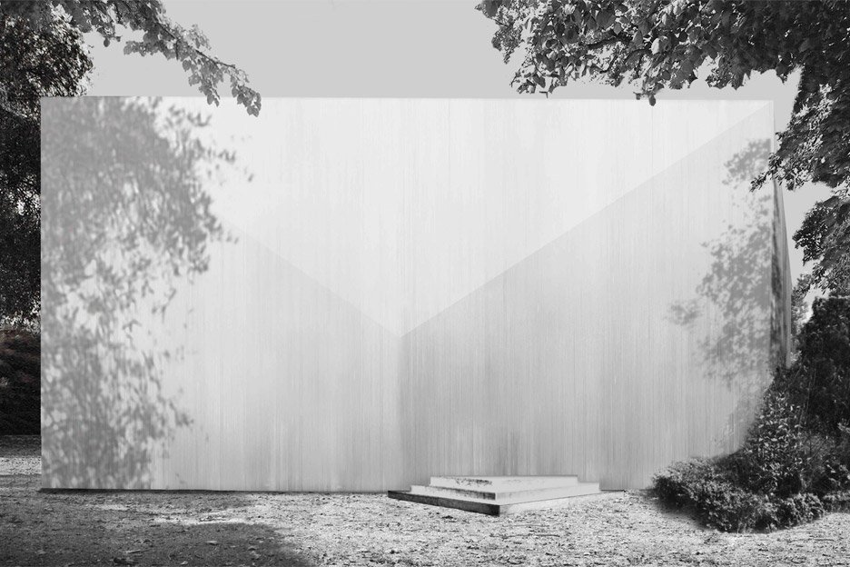 Giardini in Silence by RAAAF and Marcel Moonen, Installation for Giardini Pavilions