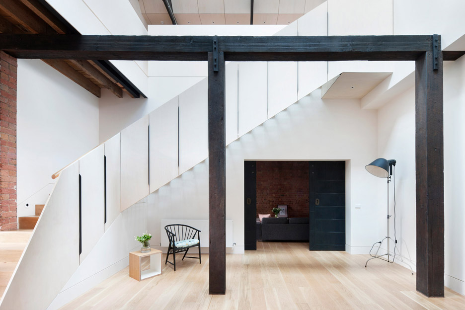 Andrew Simpson converts Melbourne warehouse into home