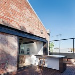 Andrew Simpson Architects converts Melbourne warehouse into family home