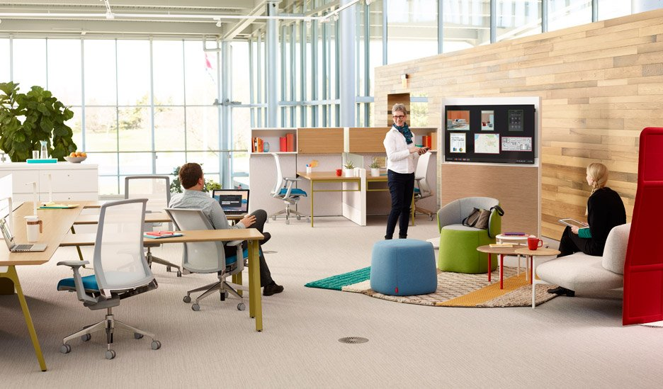 You Need To Design Offices For Next Generation Says Haworth Beauteous How To Design An Office Space